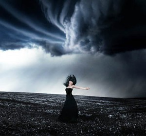 The storm is my life My life is me I am the storm