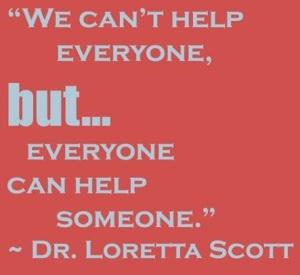 Loretta Scott Quote